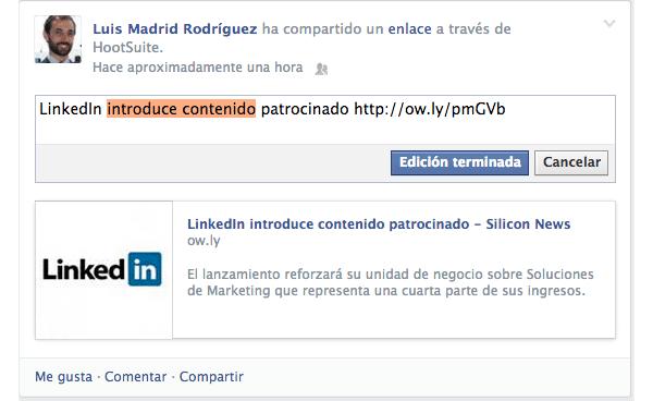 Como editar publicaciones en facebook paso 3